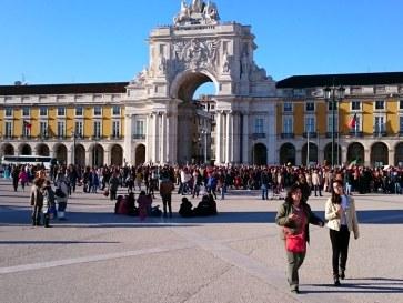 Лиссабон. Триумфальная арка (Rua Augusta)