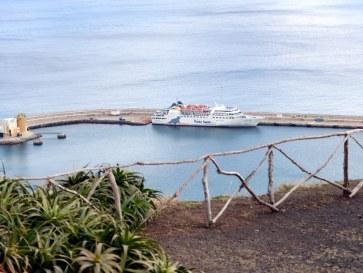 Паром Lobo Marinha. Порту Санту - Мадейра