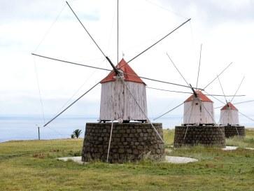 Мельницы. Остров Порту Санту. Мадейра