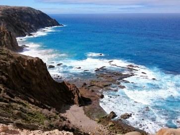 Фонте де Арея. Остров Порту Санту. Мадейра