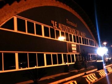 Пассажирский терминал. Порт Чивитавекья. Италия 2010