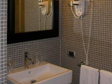 Гостиница Mercure Palermo Centro. Ванная