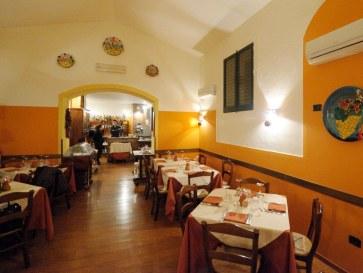 Ресторан Capricci di Sicilia - Интерьер (фото: gnuckx)