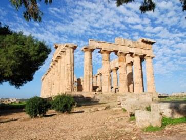 Храм Е. Селинунте, Сицилия. 2010