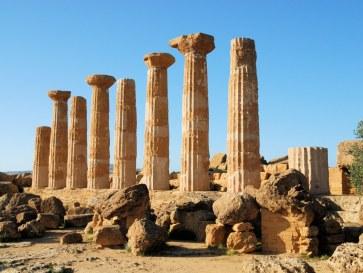 Храм Геракла. Агридженто. Сицилия. 2010