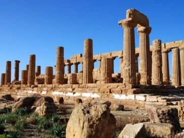 Храм Геры. Агридженто. Сицилия. 2010