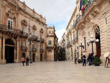 Площадь Дуомо. Сиракуза. Сицилия, 2010