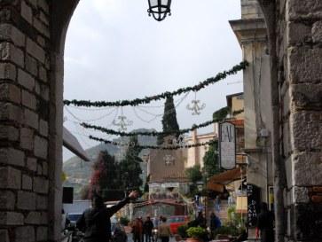 Ворота Катаньи. Таормина, Сицилия. 2010