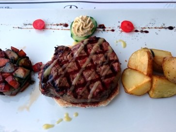 Ресторан Porto Parasiris. Филе говядины
