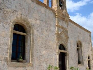 Монастырь Криссокалитиса. Крит. Июнь 2015
