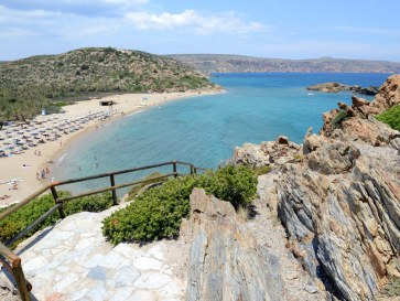 Пляж Ваи. Крит, 2015