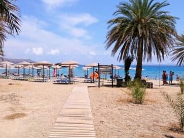 Пляж Ваи. Крит. 2015