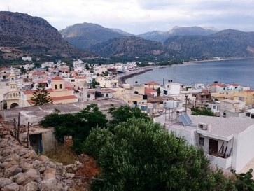Пляж Халикия. Палеохора, Крит. 2015