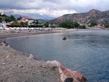 Пляж в Айя Галини. Крит, 2015