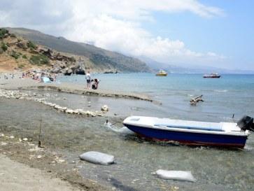 Пляж в Превели. Крит, 2015