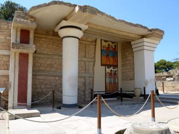 Южный портик. Кноссос, Крит. 2015