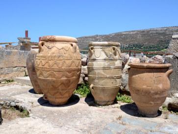 Пифосы или сосуды для хранения. Кноссос, Крит. 2015