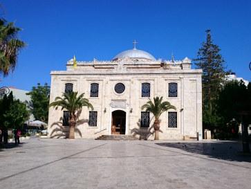 Церковь Айос Титос. Ираклион, Крит. 2015