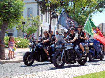 Мотопробег в Фару, Португалия. 2010