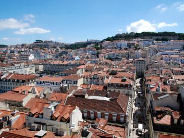 Панорама города. Лиссабон, Португалия. 2010