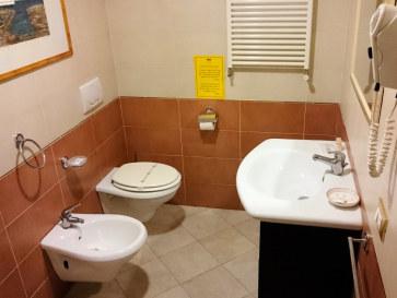 Гостиница OScia. Ванная
