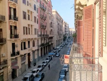 Гостиница OScia. Вид с балкона