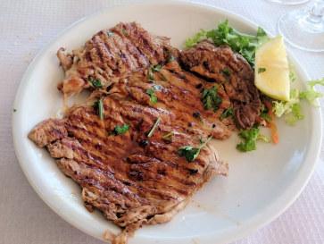 Ресторан Il Pignataro. Мясо