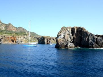 Cala Junco. Панареа. Липарские острова. Италия. 2015