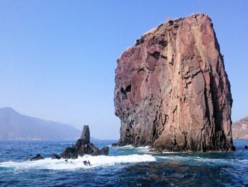 Запад острова Липари. Италия, 2015