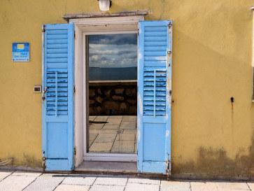 Апартаменты Cielomare. Вход с улицы