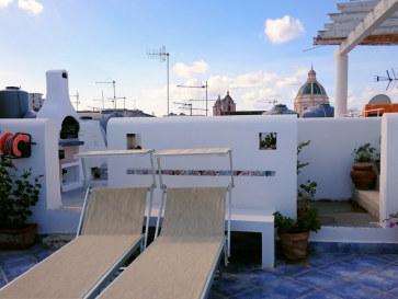 Апартаменты Cielomare. Крыша