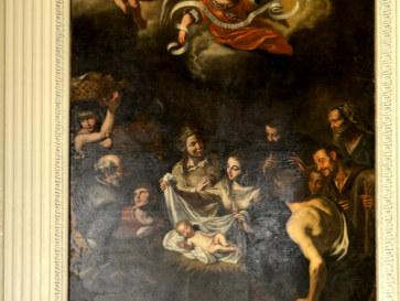Nativita. Geronimo Gerardi. Кафедральный собор Трапани. Сицилия. 2015