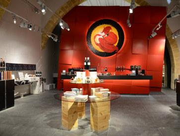 Магазин винодельни Florio. Марсала, Сицилия. 2015