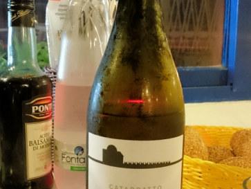 Ресторан La Scogliera. Вино