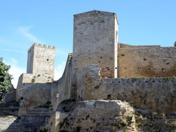 Замок Ломбардия. Энна. Сицилия, 2015