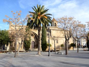 Площадь 1 мая. Убеда, Испания. 2015