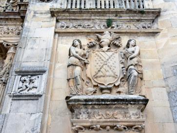 Фасад часовни Спасителя. Убеда, Испания