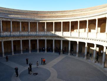 Дворец Карла V. Альгамбра. Гранада, Испания, 2015