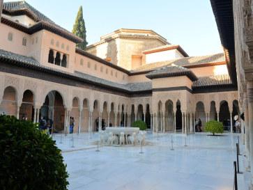 Львиный дворик. Альгамбра. Гранада, Испания, 2015