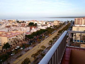 Гостиница Guadalqvivir. Вид на реку и океан