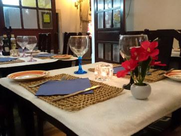Ресторан Vagabundo do Mar. Интерьер