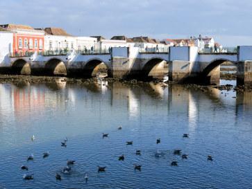 Романский мост. Тавира, Португалия, 2015