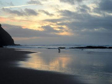 Praia de Monte Clerigo, Алгарве, Португалия, 2015