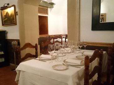 Ресторан El Figon. Интерьер