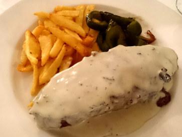Ресторан El Figon. Филе говядины