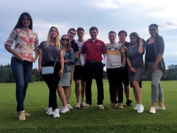 ОЧР-2016 по гольфу. Волонтёры