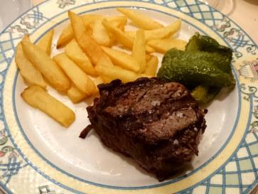Ресторан Casa Mariano. Филе говядины
