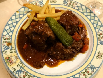 Ресторан Casa Mariano. Бычий хвост