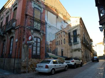 На улицах города. Самора, Испания, 2016