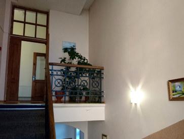 Гостиница Ludza. Лестница на третий этаж